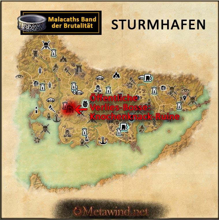 eso_antiquitaeten_spuren_1s2_Malacaths Band der Brutalität Sturmhafen